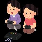 レトロゲーム機で遊ぶ人達