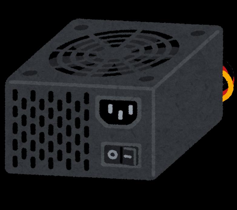 BTOパソコンの電源