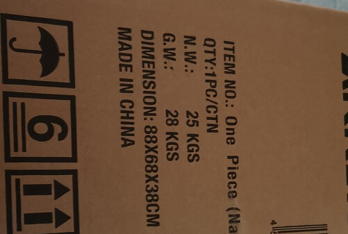 AKRacingの箱の大きさ