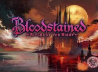 Bloodstainedのタイトル画面