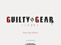 GUILTY GEAR -STRIVE- クローズドβのタイトル画面